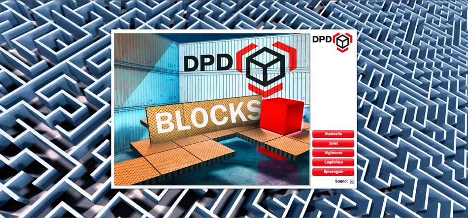 Eine Reihe von Casual Games für DPD