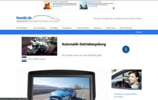P1XEL - WordPress Webseite für den Internetblog Kombi.de