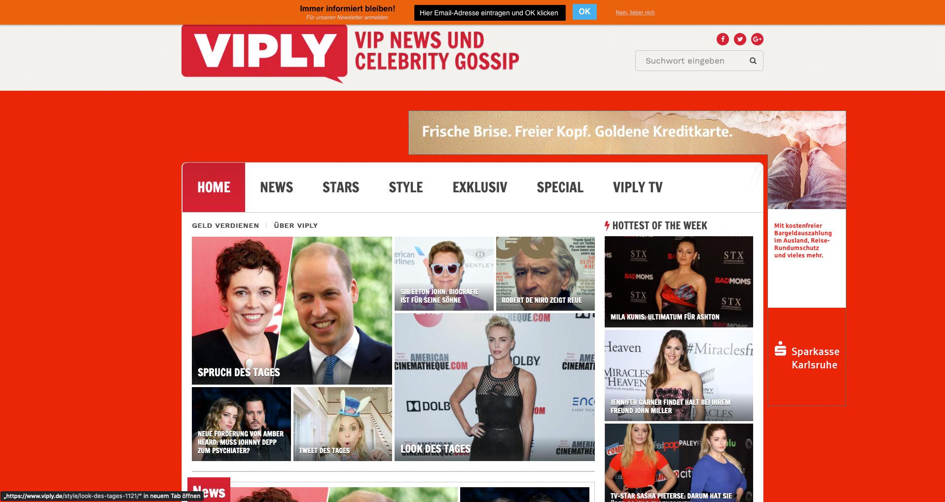 P1XEL - WordPress Newsportal Viply.de