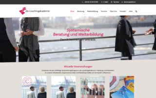 P1XEL - WordPress Webseite für die Coaching Akademie in Hamburg