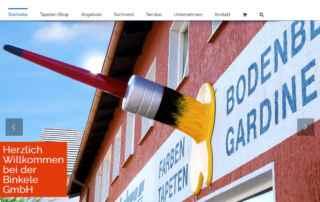 P1XEL - WordPress & WooCommerce Onlineshop für die Großhandelsfirma Binkele GmbH in Gemmingen