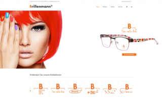 P1XEL - WordPress Website und B2B WooCommerce Onlineshop für den Brillenhersteller Brillenmann mit Sitz in Renningen