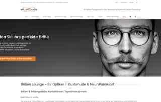 P1XEL - WordPress Internetseite und WooCommerce Onlineshop für die Firma Brillenlounge mit Sitz in Hamburg & Buxtehude