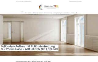 P1XEL - WordPress Multisite für die German Tec AG