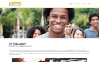 """P1XEL - WordPress Webseite """"Mathe4Joblinge"""" für die Stiftung Rechnen in Hamburg"""